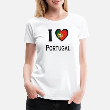 Porto I love Portugal - Women's Premium T-Shirt