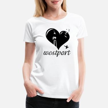 Westport Love Westport - Women's Premium T-Shirt