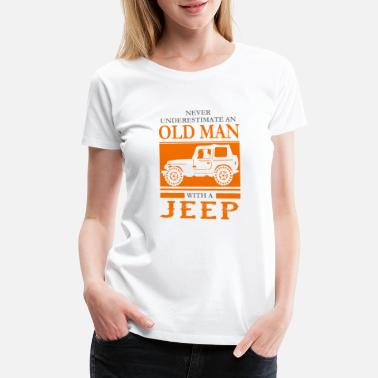 Funny Jeep Funny Novelty Gift For Jeep Lover - Women's Premium T-Shirt