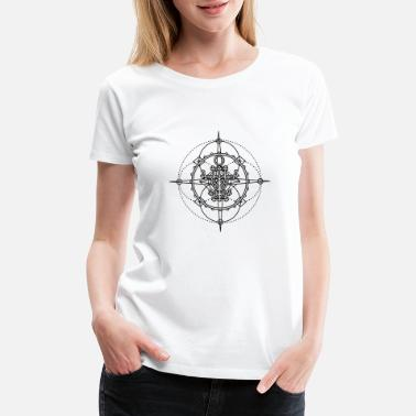 Evil Spirit Old seal, talisman - protection from evil spirits - Women's Premium T-Shirt