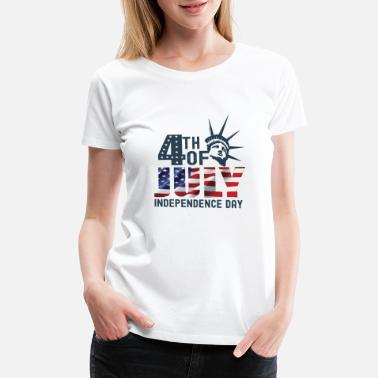 4 Th 4 TH OF JULY INDEPENDENCE DAY - Women's Premium T-Shirt