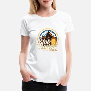 Peak Stok Kangri Trek - India - Women's Premium T-Shirt
