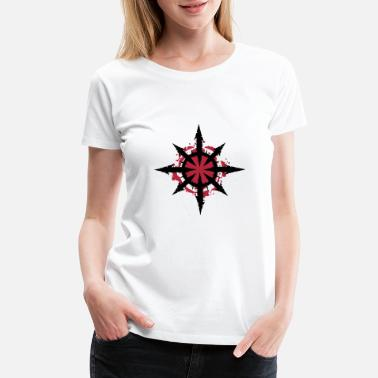 Chaos Star of Chaos - Women's Premium T-Shirt