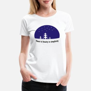 Mother Earth Nature Trees Wood Gift Idea Mountains Saying - Women's Premium T-Shirt