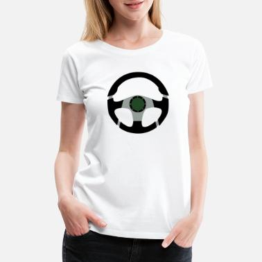 Steering Wheel Steering Wheel - Women's Premium T-Shirt
