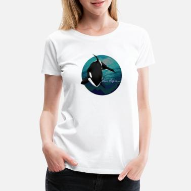 Jaws Orca Whale for Men, Women and Kids - Women's Premium T-Shirt
