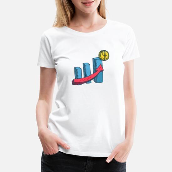Coin Traffic Illustration Women's Premium T-Shirt | Spreadshirt
