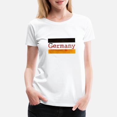 Schöneberg Germany - German Flag - Deutschland - Berlin - Women's Premium T-Shirt