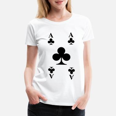 Playing Card Cards - Women's Premium T-Shirt