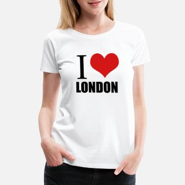 I Love London i love london - Women's Premium T-Shirt