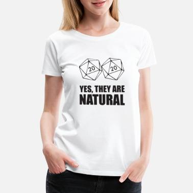 Control yes they are natural - Women's Premium T-Shirt