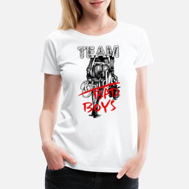 Bad Manners 2reborn TEAM Bride Bad Boy JGA - Women's Premium T-Shirt