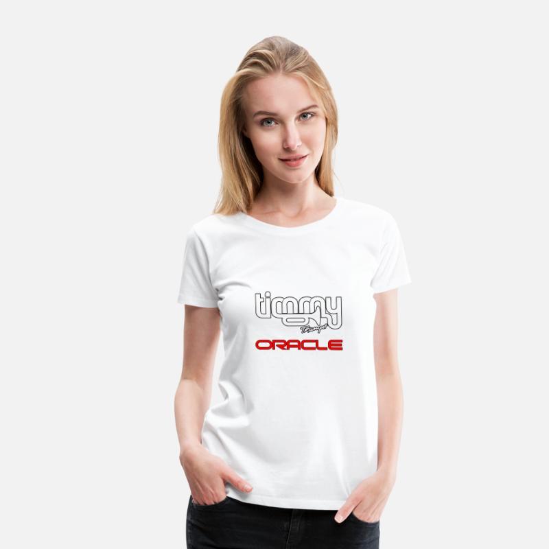 Timmy Trumpet - Oracle VI Women's Premium T-Shirt - white