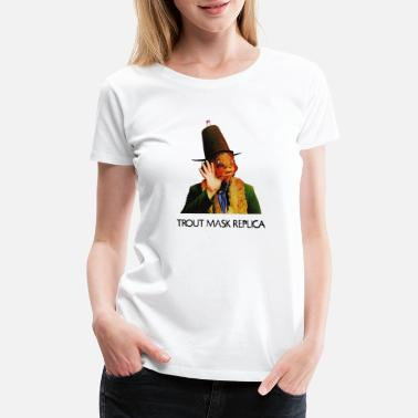 Captain Beefheart Captain Beefheart His Magic Band Trout Mask Re - Women's Premium T-Shirt