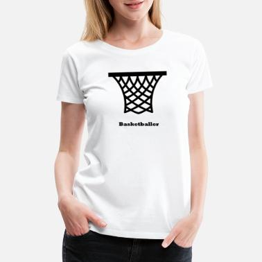 Basketball Clothing Basketballer - Women's Premium T-Shirt