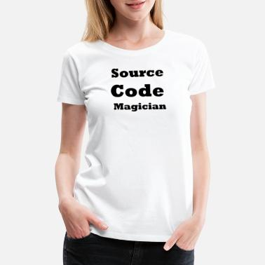 Act Source Code Magician - Women's Premium T-Shirt