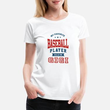 Commonwealth Baseball player grandmother - Women's Premium T-Shirt
