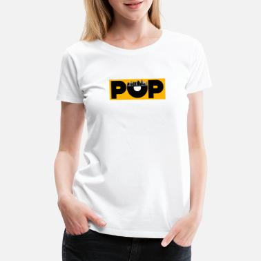Pop Star Pop Music - Women's Premium T-Shirt