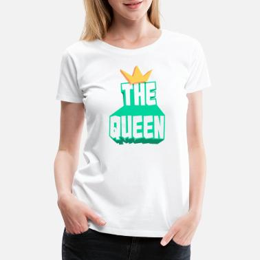 Muscle Prince the queen - Women's Premium T-Shirt