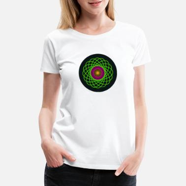 Colorful Circles colors circles - Women's Premium T-Shirt