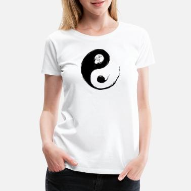 Black And White Aftermath - Women's Premium T-Shirt