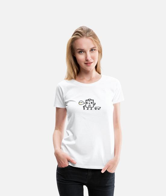 Old But Gold T-Shirts - Old but gold - Women's Premium T-Shirt white