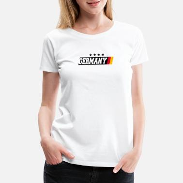 4 Stars GERMANY 4 STARS DESIGN - Women's Premium T-Shirt