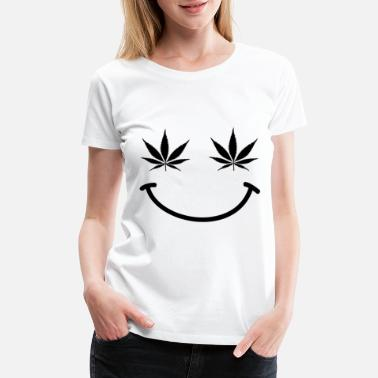 Legal Pot 420 Rasta Weed Smilie Present Gifts - Women's Premium T-Shirt