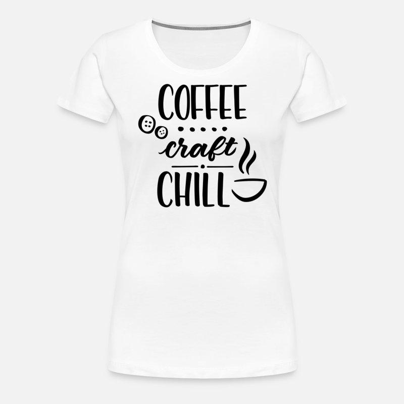 c492f0cfbd742 Coffee Craft Chill Women's Premium T-Shirt - asphalt gray