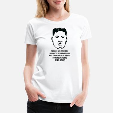 Supreme Leader Kim Jong Un T-Shirt Design Supreme Leader of North - Women's Premium T-Shirt