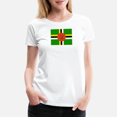 Dominica Flag Flag of Dominica (dm) - Women's Premium T-Shirt
