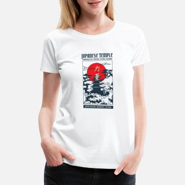 Shrine Japanese Temple Culture Giftidea - Women's Premium T-Shirt