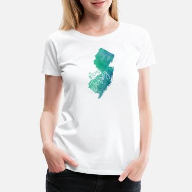 New Jersey - Women's Premium T-Shirt