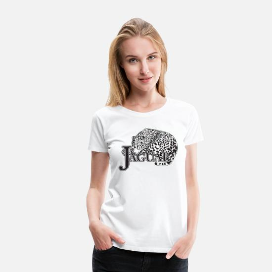 Jaguar T-Shirts - Jaguar - Women's Premium T-Shirt white