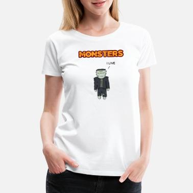 Mini Bus mini frankenstein - Women's Premium T-Shirt