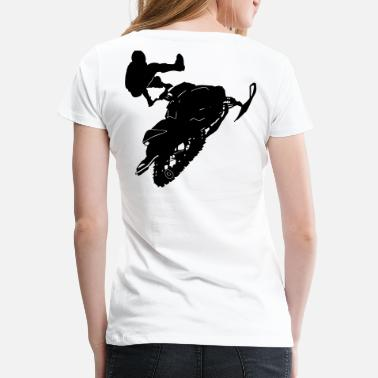 Snowmobile Snowmobil - Women's Premium T-Shirt