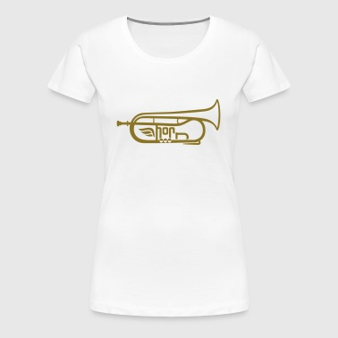 The Flugelhorn light - Women's Premium T-Shirt