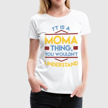 MOMA 1A.png - Women's Premium T-Shirt