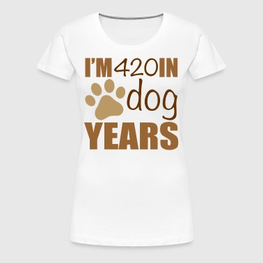 60th Birthday Dog Years - Women's Premium T-Shirt