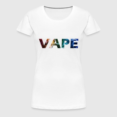 vape steam - Women's Premium T-Shirt