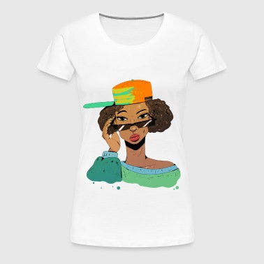 90's Flow - Women's Premium T-Shirt