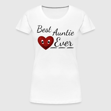 Best Auntie Ever BAE - Women's Premium T-Shirt
