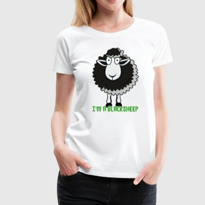 I M A BLACK SHEEP - Women's Premium T-Shirt