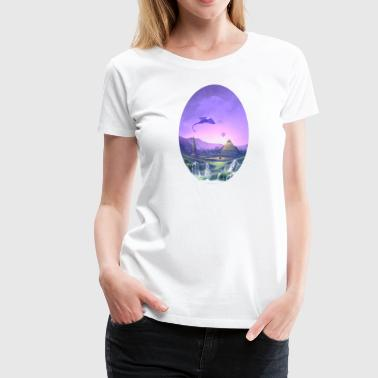 Atlantis Dreaming - Women's Premium T-Shirt