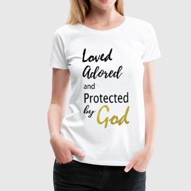 by God 1 - Women's Premium T-Shirt