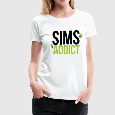 Sims Addict - Women's Premium T-Shirt