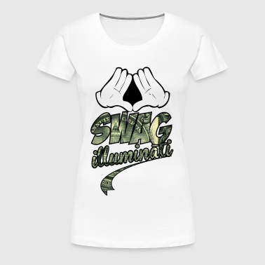 illuminati swag part two - Women's Premium T-Shirt