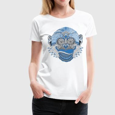 Blue Monkey - Women's Premium T-Shirt
