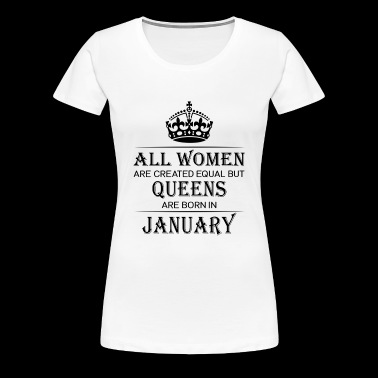 Birthday Women January - Women's Premium T-Shirt