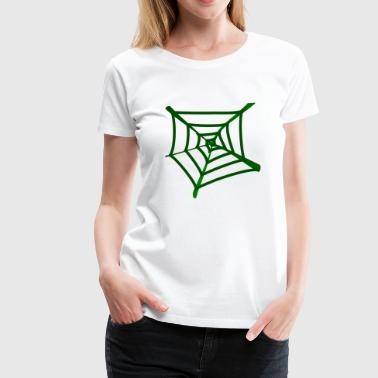 spider web - Women's Premium T-Shirt